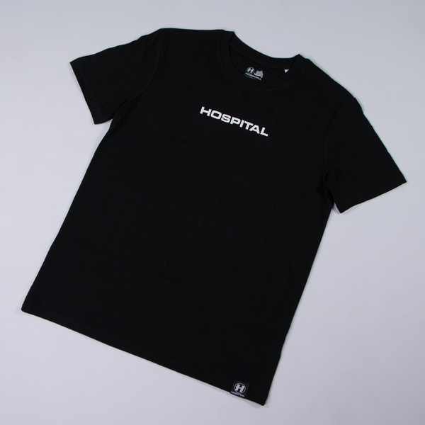 Hospital Records – Essential Tee 2.0 - Black