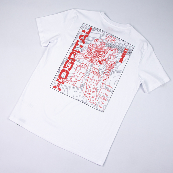 Hospital Records – Mecha White Tee