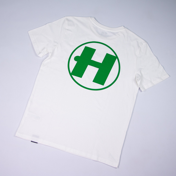 Hospital Records – Spring Tonal Essential Tee - Off White & Green