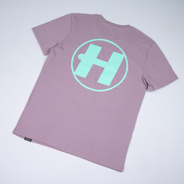 Hospital Records – Spring Tonal Essential Tee - Lilac & Aqua