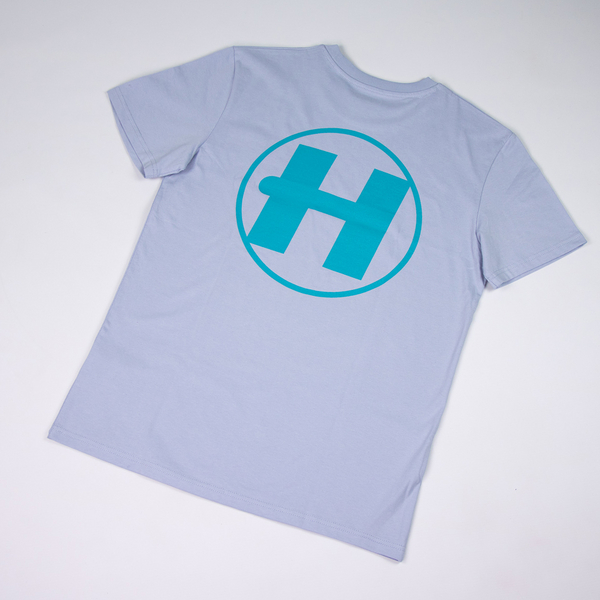 Hospital Records – Spring Tonal Essential Tee - Blue & Turquoise