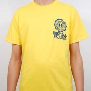 Hospital Records – NYPD Hospital T Shirt - Yellow