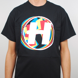 Hospital Records – Rolling H T Shirt - Black