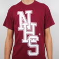 Hospital Records – NHS T Shirt - Maroon