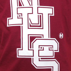 NHS T Shirt - Maroon
