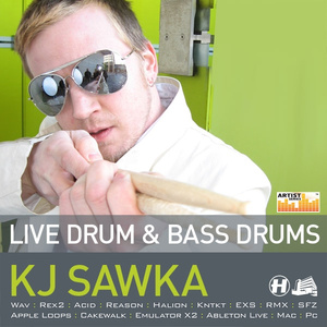 Live Drum & Bass Drums