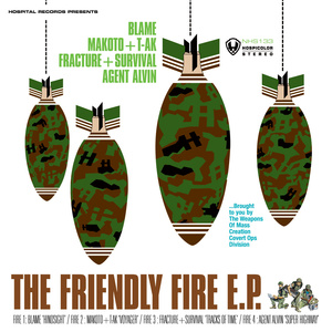 Various Artists - The Friendly Fire EP