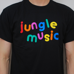 Jungle Music T Shirt - Black