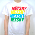Netsky – Netsky Mixed Fruit T Shirt - White