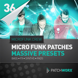 Microfunk Crew - Microfunk Massive Patches