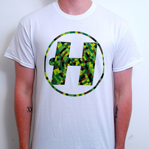 Hospital Records – Digital Camo White T-Shirt