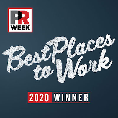 PR week - Best places to work 2020 winner