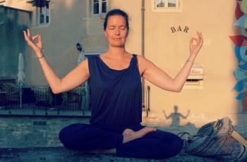 balancerende ademhalingsoefening