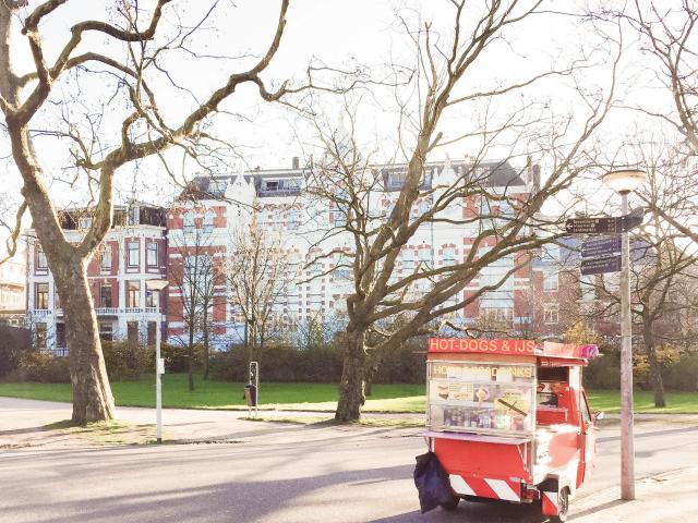 mindful bewegen in een drukke stad