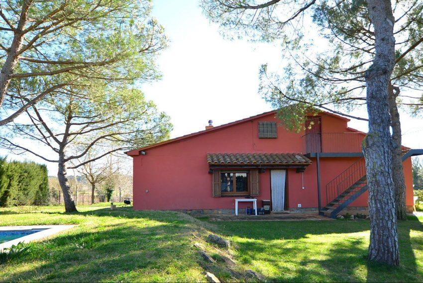 Casa de Campo en el Emporda Fachada Jardin