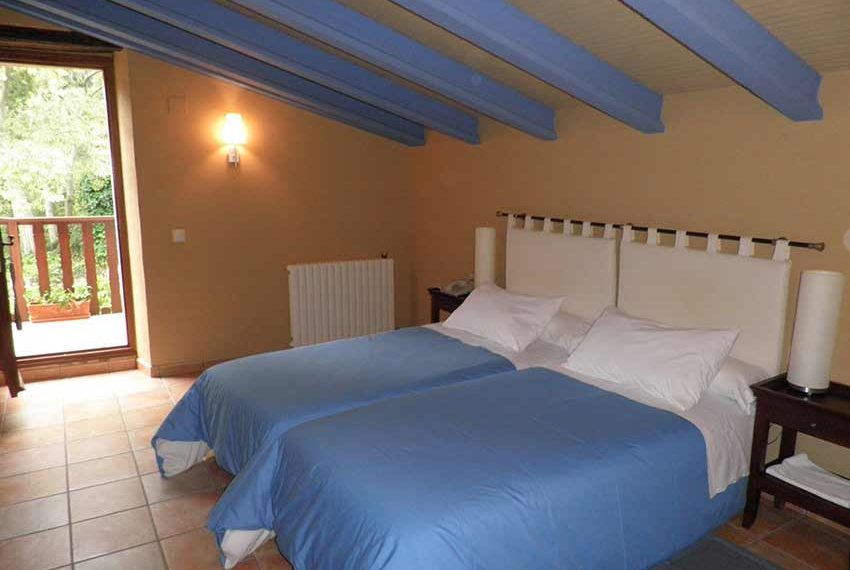 Hotel Rural Pla Estany Habitacion Azul
