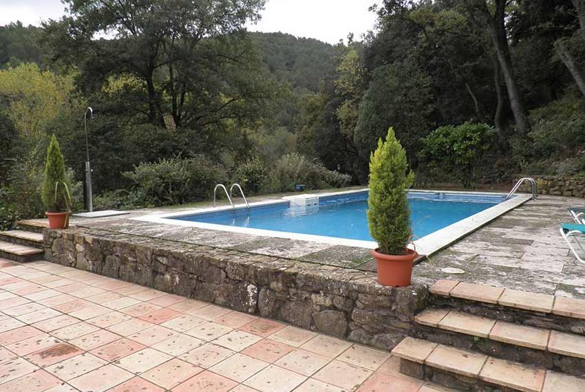 Hotel Rural Pla Estany Piscina