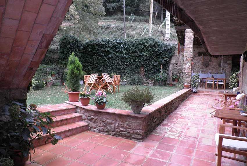 Hotel Rural Pla Estany Terraza
