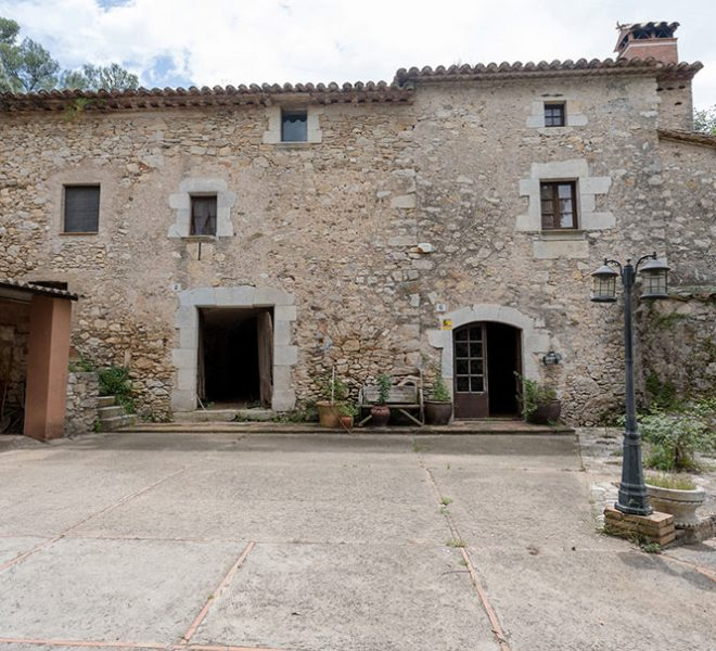 Masia cerca de Girona