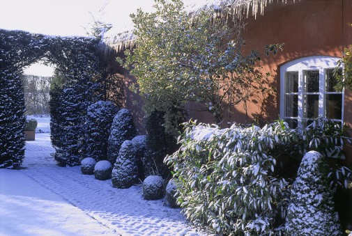 How to prepare your garden for a winter sale house simple - How to prepare garden for winter ...