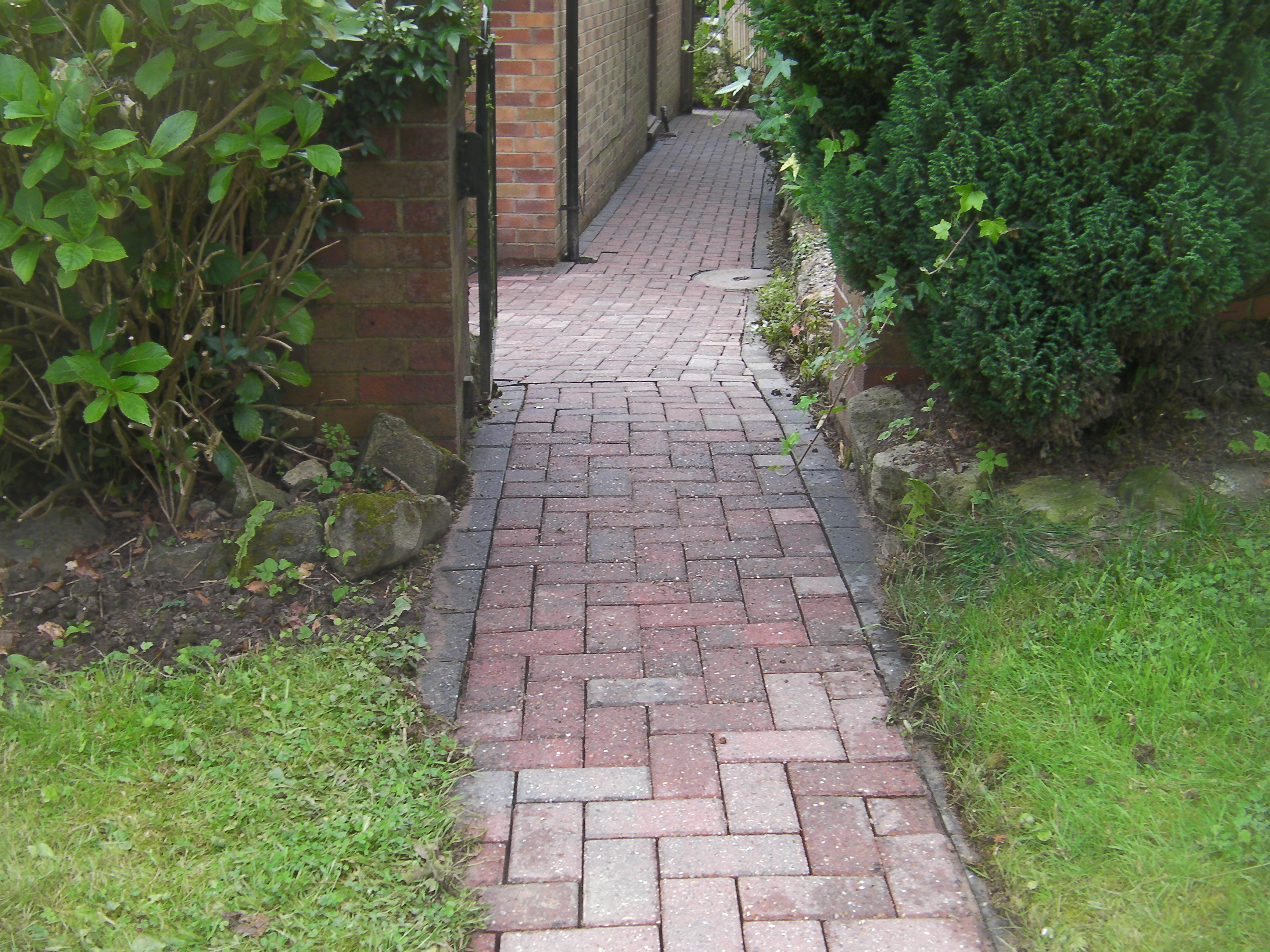 block paving cleaned
