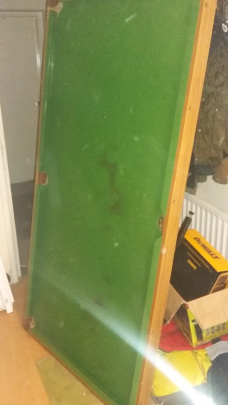 6ft Snooker &  Pool table with foldable legs