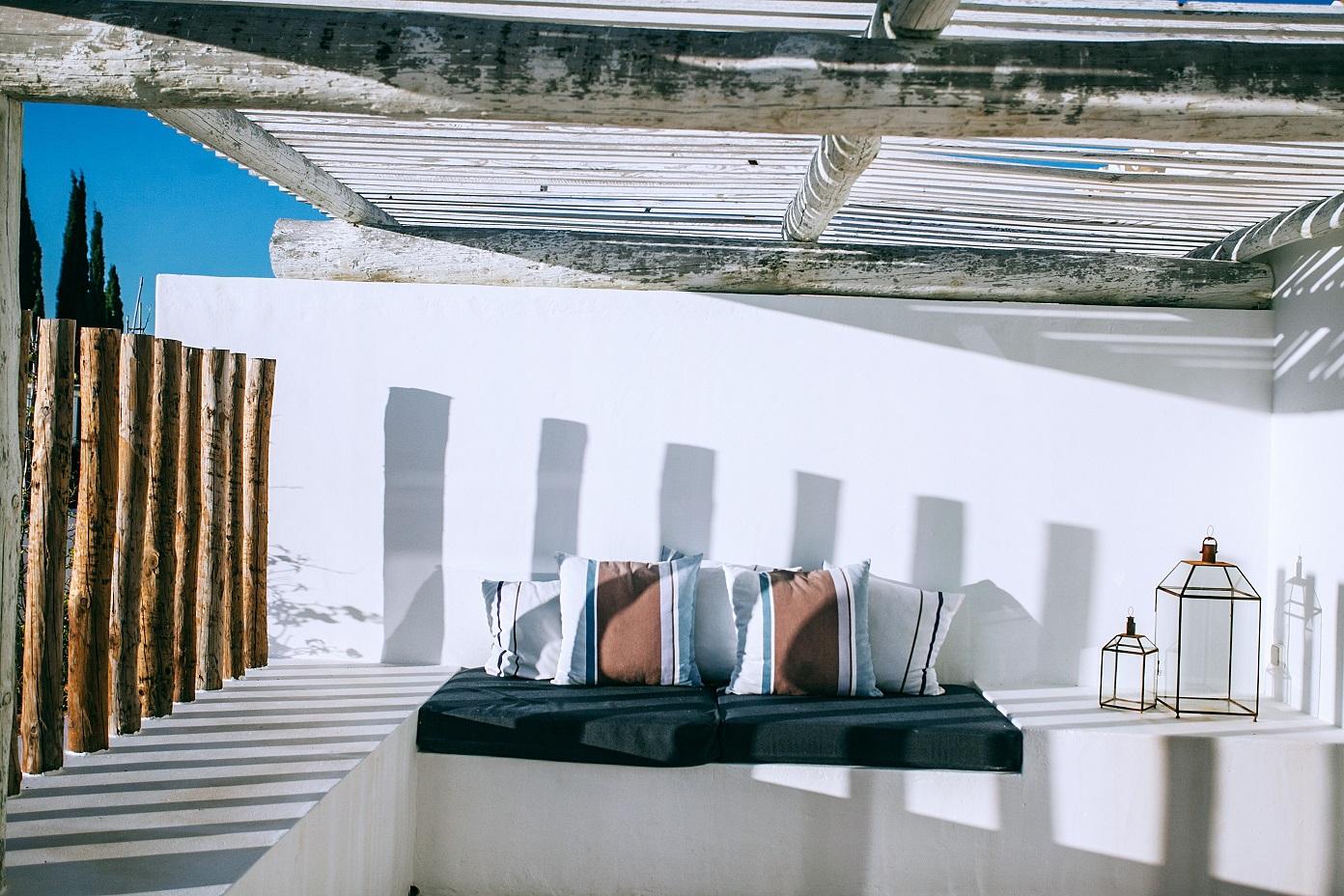 terraza mobiliario decoración
