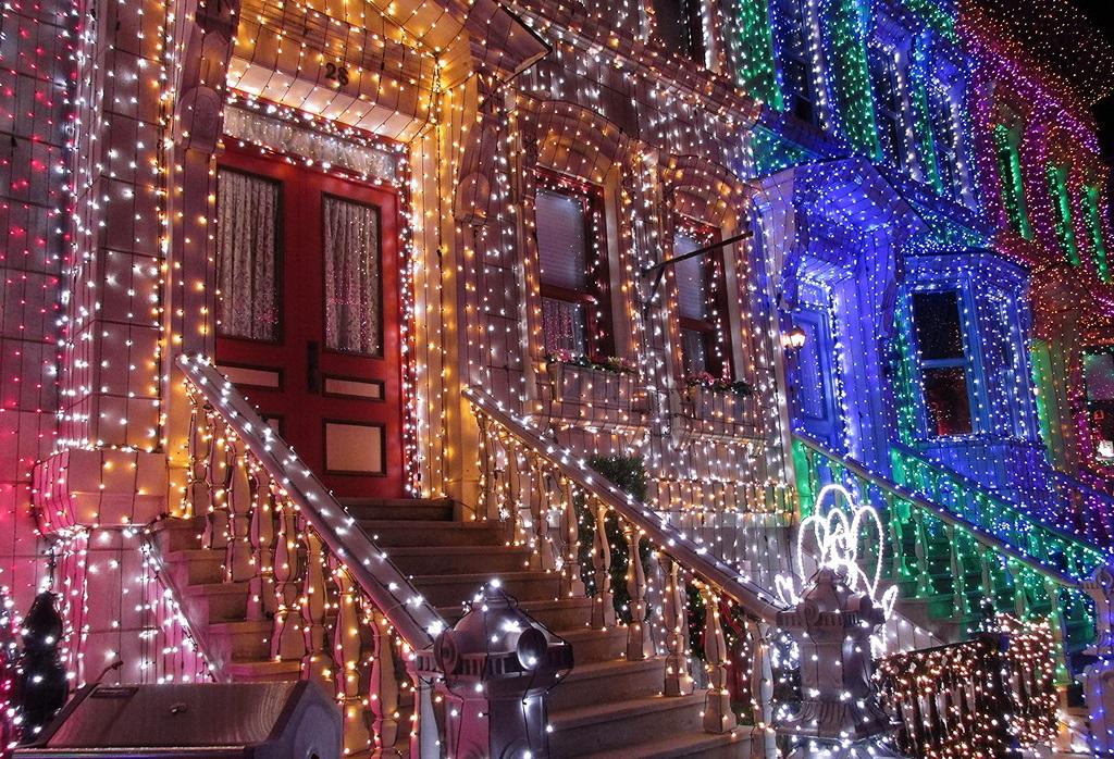 Decorar Tu Casa Con Luces De Navidad Para Exteriores Housfy