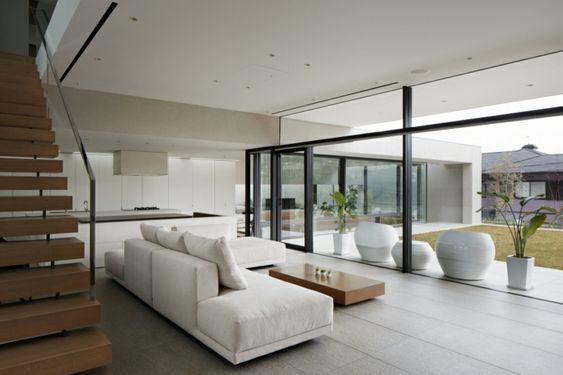 decoración salón moderno