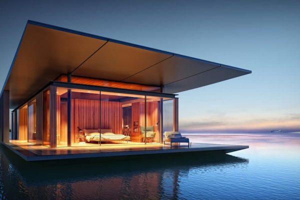 Casa flotante. Fuente: Megaricos
