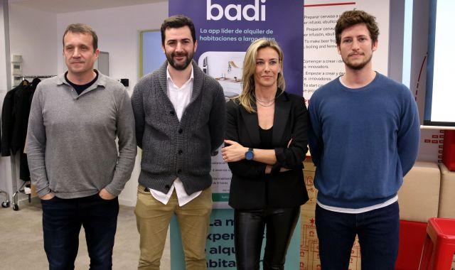 el-conseller-delegat-del-barcelona-tech-city-miquel-marti-el-ceo-de-housfy-albert-bosch-la-ceo-de-savills-aguirre-newman-barcelona-anna-gener-i-el-ceo-de-badi-carlos-pierre-acn