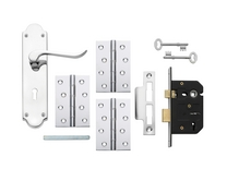 Chrome 3 Lever lock pack