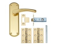 Brass latch pack