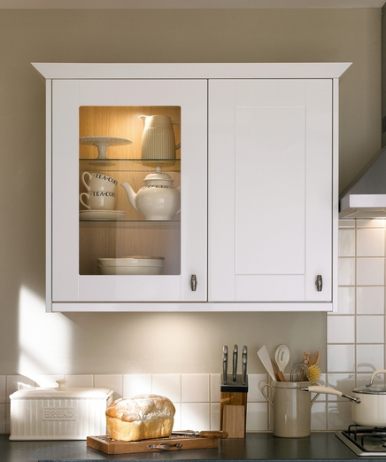 Kitchen wall cabinets kitchen wall cupboards howdens for Tall kitchen wall units