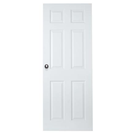 6 Panel Grained Door Internal Moulded Panel Doors