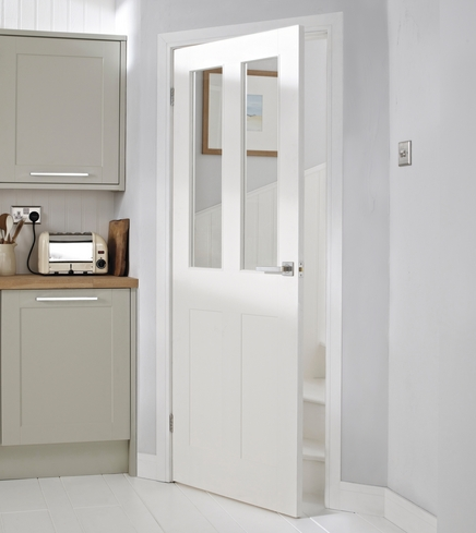 Burford 4 Panel 2 light glazed door & Burford 4 Panel 2 light glazed door | Internal moulded panel doors ... pezcame.com