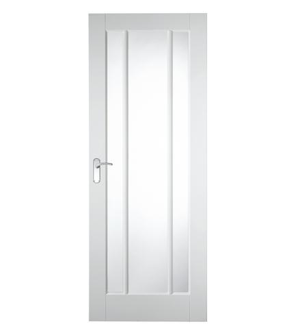 Primed Worcester glazed door