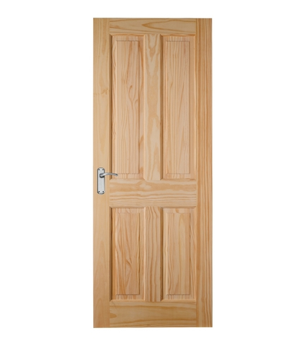 4 Panel Clear Pine Door Internal Softwood Doors Doors