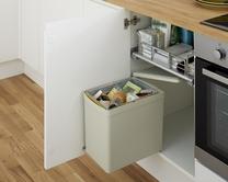 Single compartment bin