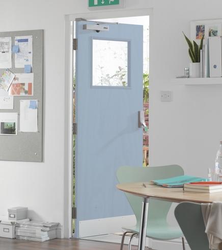 Ply G/O glazed door