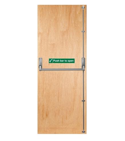 Solid core blank lightweight door external flush doors for Solid core flush door