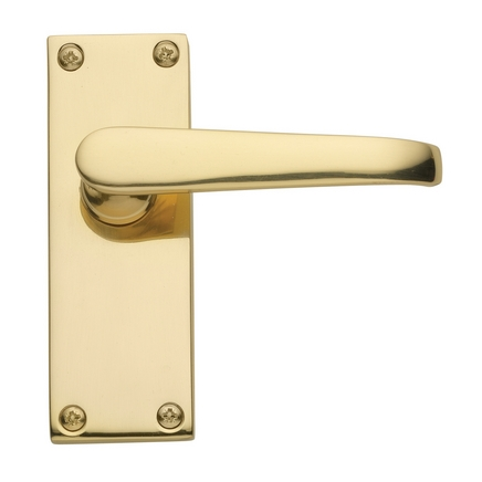 Victorian Brass latch door handle
