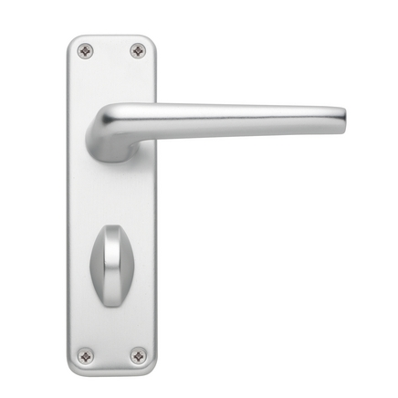 Edinburgh Aluminium bathroom door handle