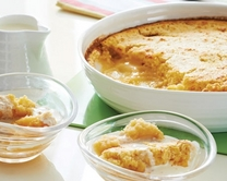 Lemon surprise pudding
