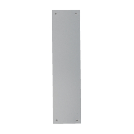 Aluminium fingerplate