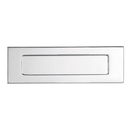 Chrome letter plate