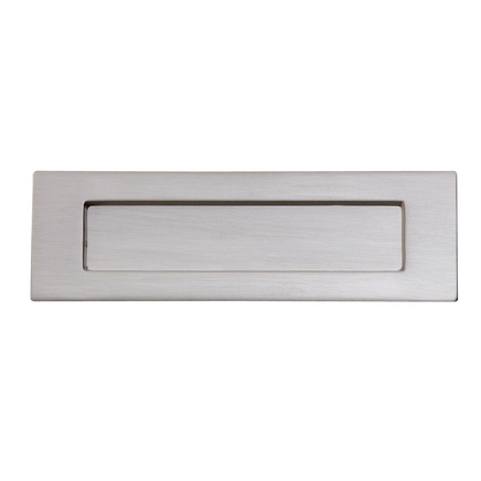 Satin Nickel letter plate