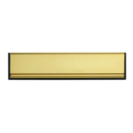 Gold Sleeved letter plate