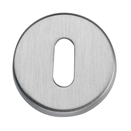 Satin Nickel round escutcheon