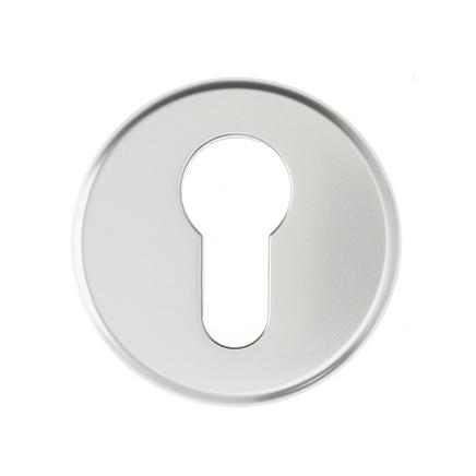 Aluminium Euro profile round escutcheon